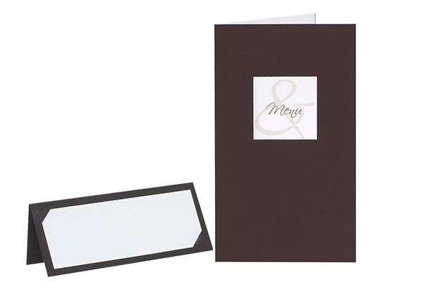 Hochzeitskarten, Tischkarten und Menükarten