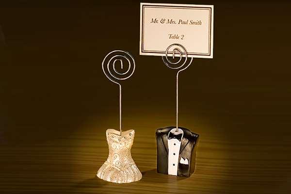 Stilvolle Tischkartenhalter Hochzeitsartikel
